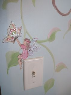 Another close up of a fairy from the same mural.