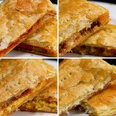 Sheet Tray Puff Pastry Pockets Recipe by Tasty