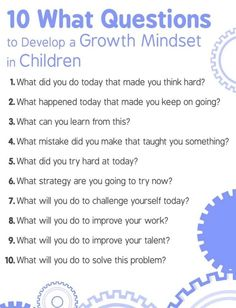 "Dr. Justin Tarte on Twitter: ""10 questions to help students develop a growth…"
