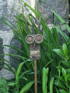 welded garden art - Google Search