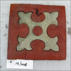 A second class floor tile recovered from the RMS Titanic, one of the greatest ocean liners. She sunk on her maiden voyage in becoming one of the most famous tragedies. Rms Titanic, Titanic Wreck, Titanic Ship, Original Titanic, Stencil, Titanic Artifacts, The Secret History, Modern History, Edwardian Era
