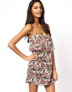 Oh My Love Cami Floral Dress