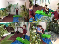 Gruffalo Role Play! Our role play area was decorated with some material to…