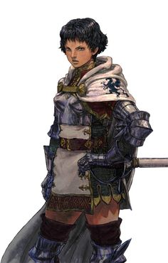 Grand Commander of the Aquan forces, Tristine Dail is from an ex-communicated noble maritime family. Though a human, she has garnered the respect of the Aquan people in her and her family's service.