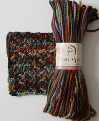 Hand Paint Chunky by Misti Alpaca - #Yarn review from Love of Crochet magazine