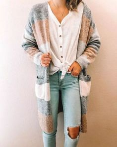 32 Trending Spring Outfits Ideas 2019 15 Trendy Autumn Street Style Outfits For This Year - fall outfits Style Outfits, Cute Fall Outfits, Mode Outfits, Fall Winter Outfits, Trendy Outfits, Fashion Outfits, Casual Winter, Cute Cardigan Outfits, Teenage Outfits
