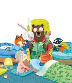 Tales, friends and dreams / Cuentos, amigos y sueños (ilustración de Mélanie Allag)