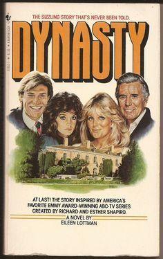 I wonder who well the catfights are written. Bantam Books, Eileen Lottman: Dynasty, Ed, 1983 Dynasty Tv Series, Dynasty Tv Show, Der Denver Clan, Linda Evans, Fantasy Films, Old Tv Shows, Classic Tv, Romance Books, Nostalgia