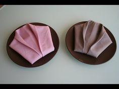 Servietten falten: Smoking napkin folding Smoking - YouTube Origami, Napkin Folding, Decoration Table, Ikebana, Tablescapes, Napkin Rings, Napkins, Projects To Try, Smoke