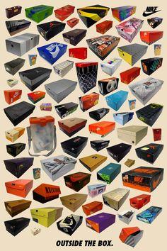 Estupenda recopilación de imágenes de cajas de zapatillas de coleccionista.