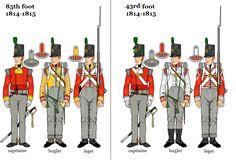 Fucilieri del 85 rgt. fanteria inglese