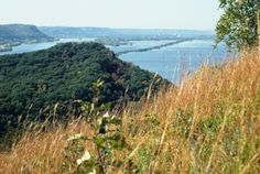 This 1300 acre state park is in Wisconsin's Driftless Area, at the confluence of the Trempealeau and Mississippi rivers. You will enjoy awesome views of steep limestone bluffs and the river valleys. W26247 Sullivan Rd, Trempealeau, WI 54661.