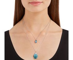 LOVE. Exotic Layered Necklace from #Swarovski