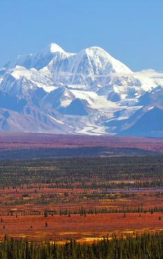 Mt. Hayes and the eastern Alaska Range mountains viewed from Denali Highway   photo: Paxson Woelber on Wikipedia