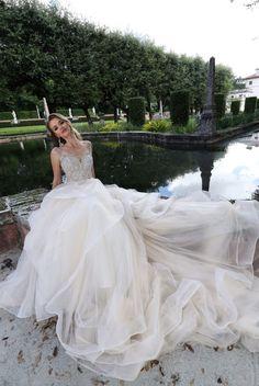 Courtesy of Ashley & Justin Bride Wedding Dresses; Wedding dress idea.