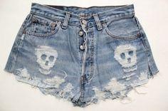 diy - denim shorts