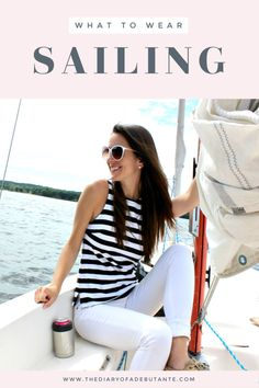 Fashion Tips Plus Size Looking for a cute and practical sailing outfit idea for women? Nautical Fashion, Preppy Fashion, Preppy Style, Fashion Tips, Fashion Fashion, Prep Outfits, Outfit Posts, Outfit Ideas, Preppy Summer Outfits