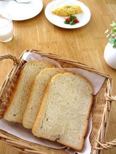 卵・バターなしでも…ふわふわ食パン♪ by みっこmikko | cotta