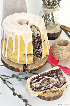 Babka gotowana Polish Desserts, Polish Recipes, Just Desserts, Delicious Desserts, Polish Food, Cake Cookies, Cupcake Cakes, Cake Recipes, Dessert Recipes