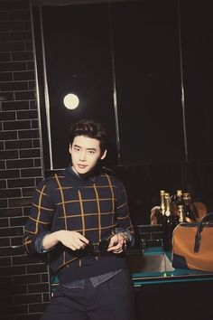Lee Jong Suk - GQ Magazine June Issue '16