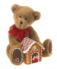 Cane Q. Gingerbeary Plush Figurine | zulily