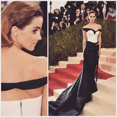 in from the Red Carpet of May 7th, Emma Watson, Fit S, Red Carpet, Calvin Klein, Two Piece Skirt Set, Poses, Formal Dresses, Instagram Posts