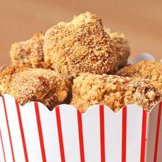Chicken Snacks, Chicken Recipes, Fried Chicken, Spicy Chicken Nuggets Recipe, Snack Recipes, Dessert Recipes, Cooking Recipes, Yummy Food, Tasty