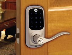 This smart lock also has a voice-guided programming function. With this, any adjustments are super easy to complete.