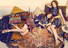 Bohemian Girls ♥ Vogue Korea- May 2012 http://cuteinkorea.com/tag/vogue/