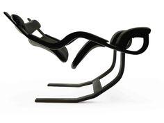 Descarga el catálogo y solicita al fabricante Varier Furniture los precios de silla patín reclinable con brazos Gravity™ balans®, diseño Peter Opsvik, colección Relax