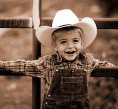 I saved a picture of this little boy from before Kash was born, because I pictured him looking like this -- pretty close!