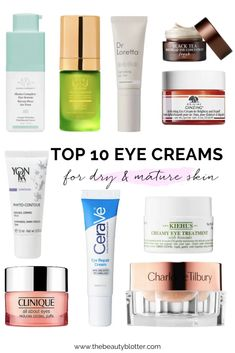 Anti Aging Eye Cream, Best Anti Aging, Anti Aging Skin Care, Best Skincare Products, Makeup Products, Beauty Products, Eye Treatment, Eye Creams, Makeup Dupes