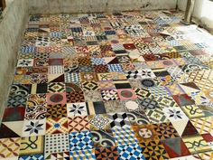 We offer large range of old spanish cement patterned tiles.These old tiles are now very popular and trendy for any luxury residential and comercial projects.More info here : WWW.LUXURYSTYLE.ES