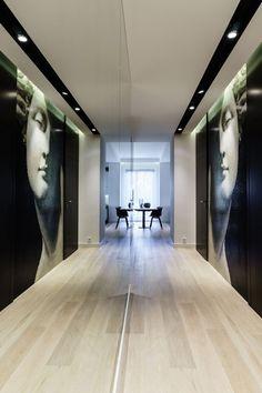 Minimalist Apartment in Gdynia by Design Studio Dragon Art - http://architectism.com/minimalist-apartment-gdynia-design-studio-dragon-art/