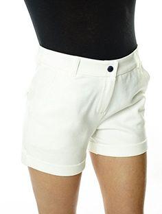 Amazon Fr, White Shorts, Casual Shorts, Short Dresses, Women, Fashion, Petite Women, White People, Short Gowns