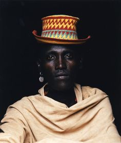 Man with hat in Ethiopia, by Philip Lee Harvey.