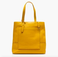 Look at your tote as a blank canvas for all sorts of fun additions. #refinery29 http://www.refinery29.com/2016/07/117176/j-crew-new-personalizable-handbag-collection#slide-10