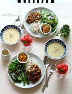 ワンプレートランチのテーブルの作り方。 by 柳川かおりさん | レシピ ...