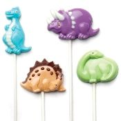 Dinosaur lollipop molds