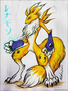 A Fox Monster by *Kiriska on deviantART