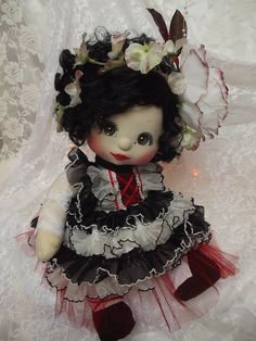 OOAK My Child Doll ~ Frilly Flower ~ Commission Doll by jesska80, via Flickr