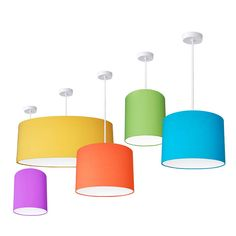 plain bright coloured lampshades 25 colours by quirk   notonthehighstreet.com
