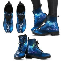 Harry Potter Always Women's Boots Mode Harry Potter, Harry Potter Shoes, Arte Do Harry Potter, Harry Potter Merchandise, Harry Potter Cosplay, Harry Potter Outfits, Harry Potter Clothing, Cute Shoes, Me Too Shoes