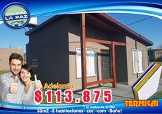 Excelentes nuevos modelos termicos! Fresca en Verano, Calida en Invierno! www.viviendaslapaz.com