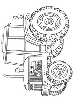 john deere christmas coloring pages - photo#17