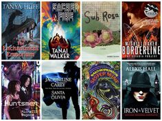 These gritty and glittery queer urban fantasy novels feature sex-work activism, genetic experiments, polyamory, erotic antique-postcard painting, sibling rivalry and more — and a ton of queer women…
