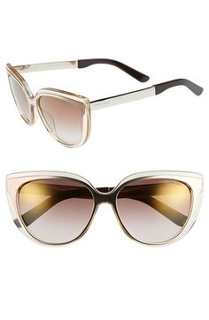 1ef6f05b011 Jimmy Choo  Cindy  57mm Retro Sunglasses