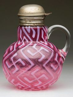 cranberry syrup pitcher