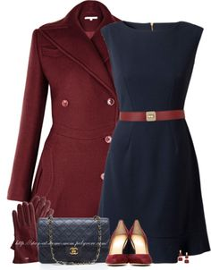 How To Wear Maroon For A Warm Autumn