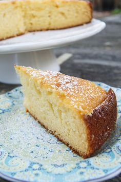 ~ Greek Yogurt Cake ~